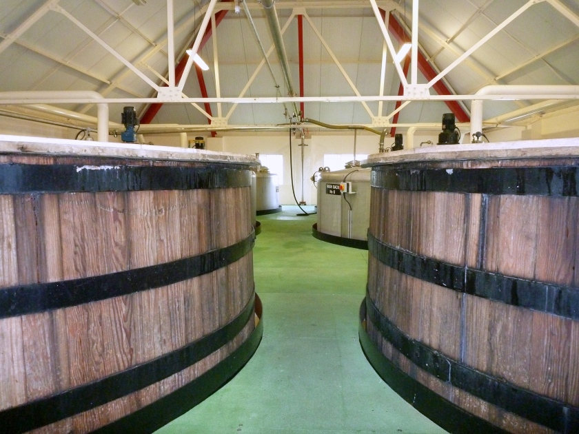 Washbacks - Two wooden