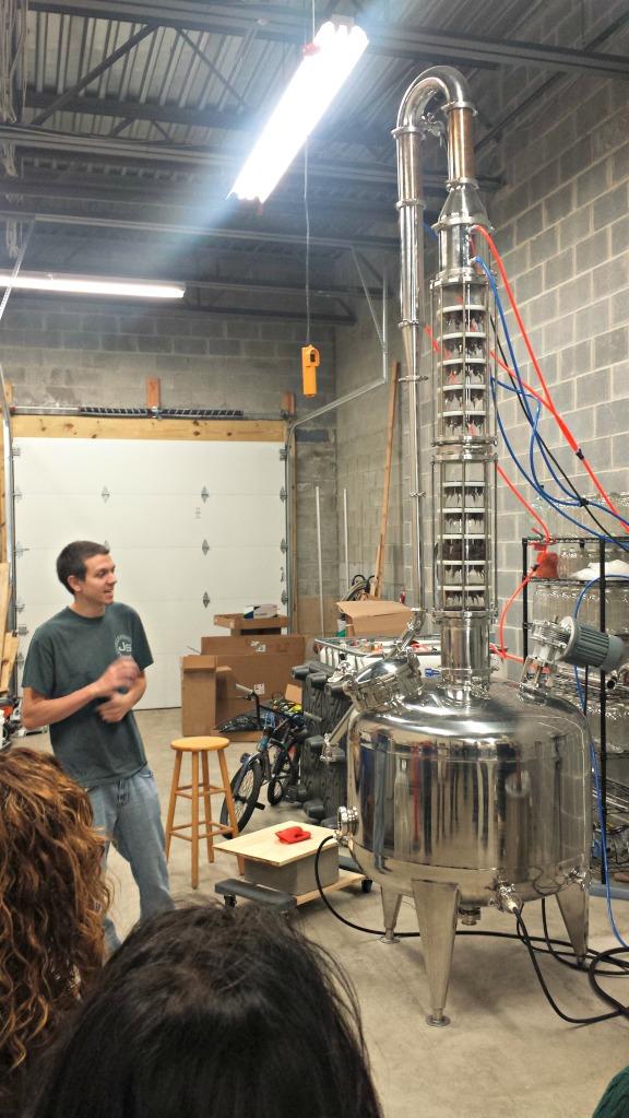 TJ, the assistant distiller