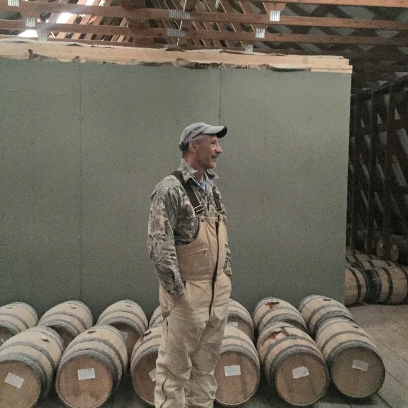 Upstairs in a barrelhouse
