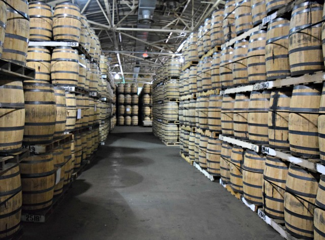 Barrel warehouse