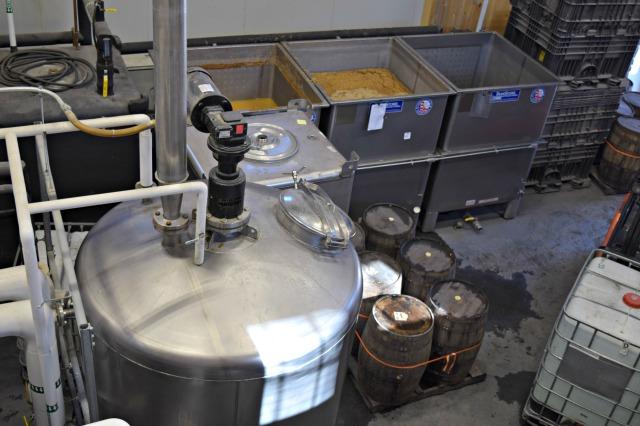 Mash and fermentation
