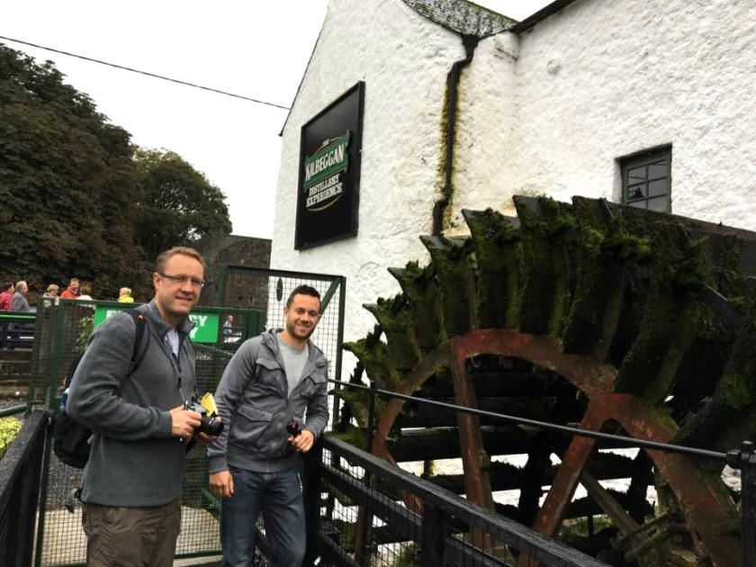 The old Kilbeggan water wheel