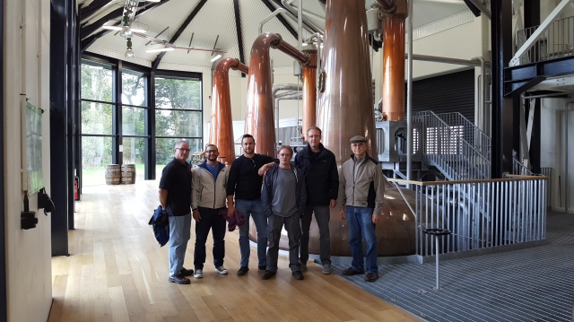 At the Walsh Distillery
