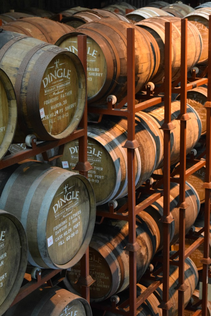 More barrels all housed on site right now