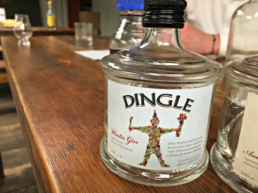 Great line of seasonal gins that we did sample