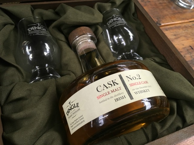 Special bottle of Cask No. 2 - no sample but fun to look at and dream