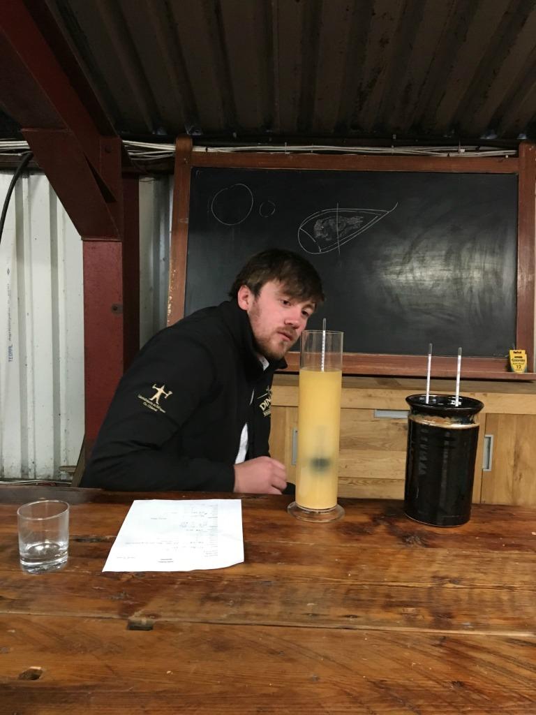 Checking the fermentation again